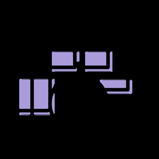 Icono de batería de música