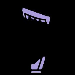 Ícone do instrumento de harpa de música