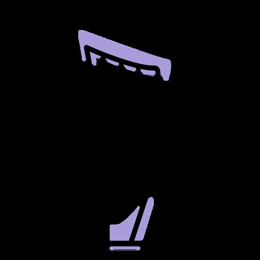 Music harp instrument icon Transparent PNG