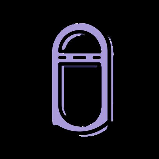 Icono de máquina de discos de música
