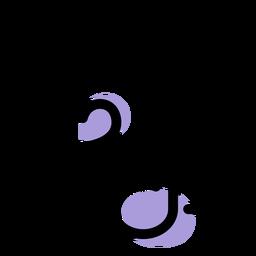 Ícone de notas principais da música