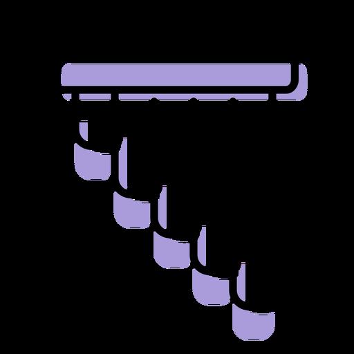 Icono de instrumento de flauta de pan de música Transparent PNG