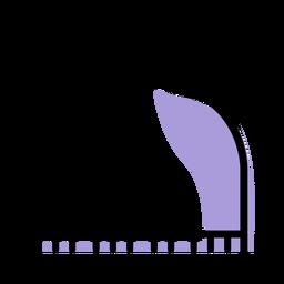 Ícone de instrumento de piano de música