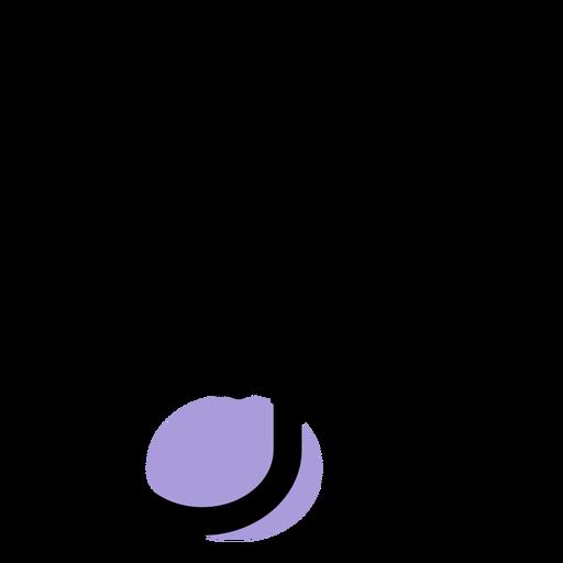 Music quaver icon Transparent PNG