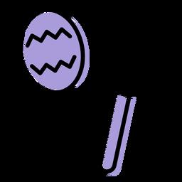 Icono de instrumento sonajero de música