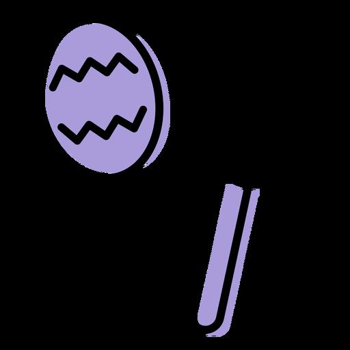 Icono de instrumento sonajero de música Transparent PNG
