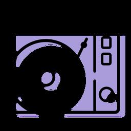 Musik-Plattenspieler-Symbol