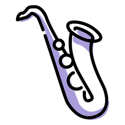 Musik-Saxophon-Instrument-Symbol