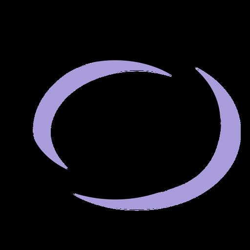 Icono de música semi breve Transparent PNG