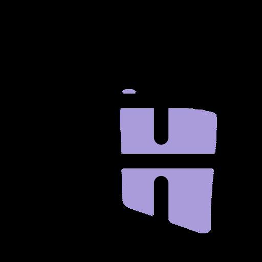 Ícone de símbolo afiado de música