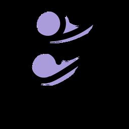 Ícone da música semicolcheia
