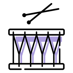 Ícone de instrumento de caixa musical
