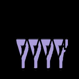 Icono de instrumento de tambores de trampa de música