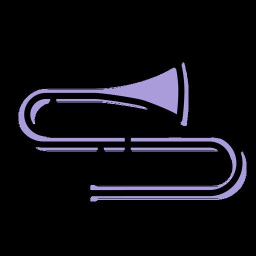 Music trombone instrument icon Transparent PNG