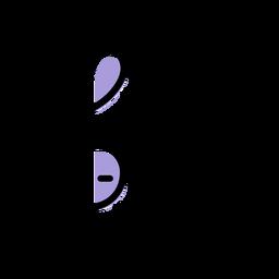 Icono de tecla de violín musical