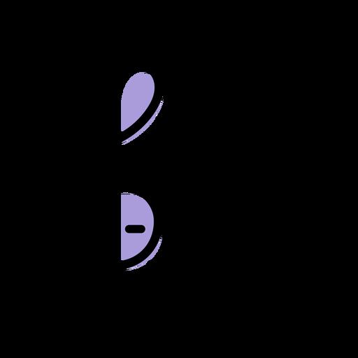 Music violin key icon