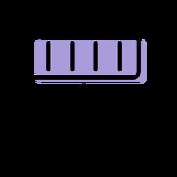 Icono de instrumento de música xilófono