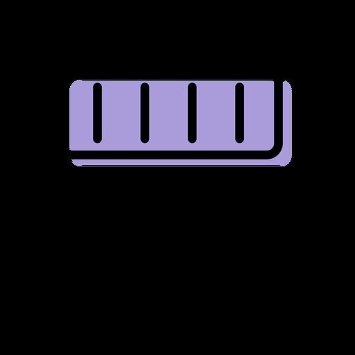 Icono de instrumento de xilófono de música