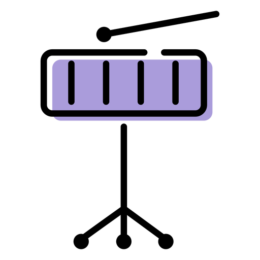 Music xylophone instrument icon Transparent PNG