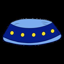 Ilustración de tazón para mascotas