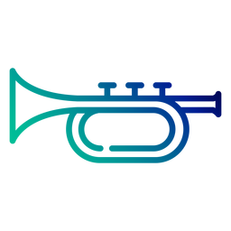 Curso de gradiente de trompete