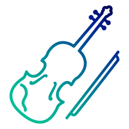 Violin gradient stroke