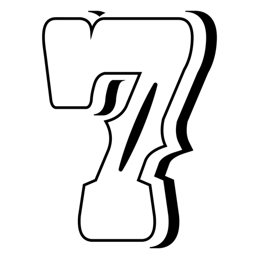 Western abc number 7 stroke