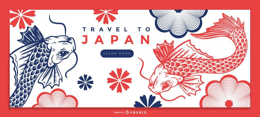 Japan Nature Landing Page Template