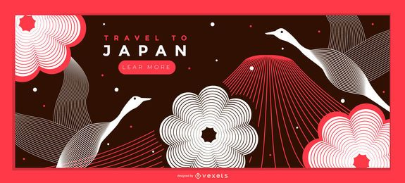 Travel Japan Landing Page Design