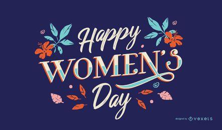 Letras Feliz Dia da Mulher