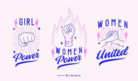 Frauentag Abzeichen festgelegt
