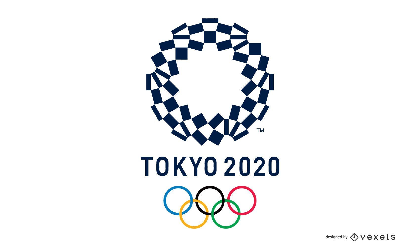 Design do logotipo dos Jogos Olímpicos de Tóquio 2020