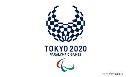 Tokyo 2020 Paralympische Spiele Logo Design
