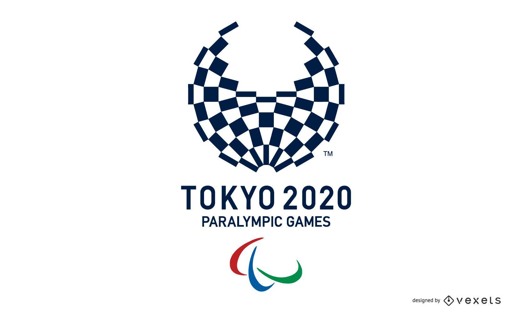Design de logotipo dos Jogos Paraolímpicos de Tóquio 2020