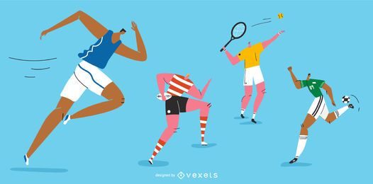 Olympische Spiele Character Pack