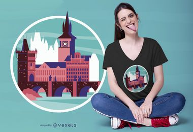 Design de camisetas de Praga