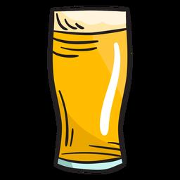 Ilustração de bebida fermentada de cerveja irlandesa