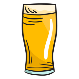 Irish beer beverage brew illustration