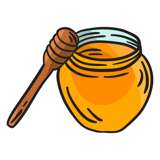 Irish honey dipper illustration Transparent PNG