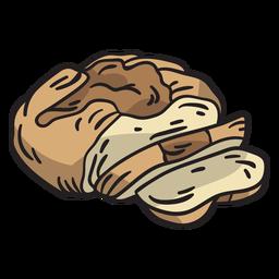 Ilustración tradicional de pan de soda irlandesa
