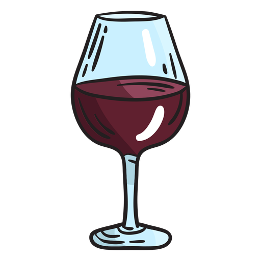 Israeli wine glass illustration