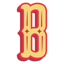 Mexican abc letter b icon
