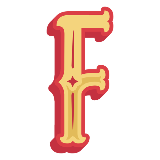 Mexican abc letter f icon Transparent PNG