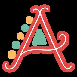 Letra mexicana abc um ícone