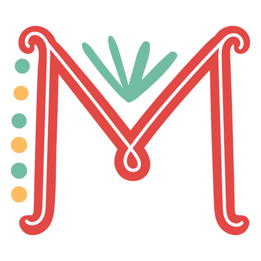 Mexican letter abc n icon Transparent PNG