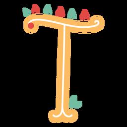 Icono de letra mexicana abc t
