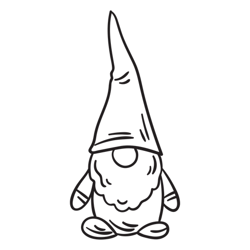 Scandinavian folklore swedish nisse stroke Transparent PNG