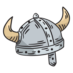 Sweden swedish viking helmet illustration