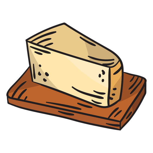 Swedish cheese food delicious illustration
