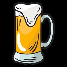 Suiza cerveza espumosa ilustración gaseosa
